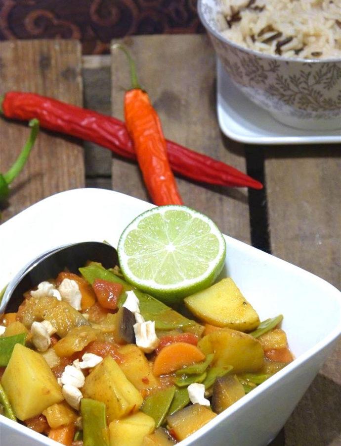 Indischer Gemüsetopf (vegan)