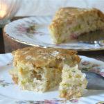Veganer Rhabarber-Kuchen