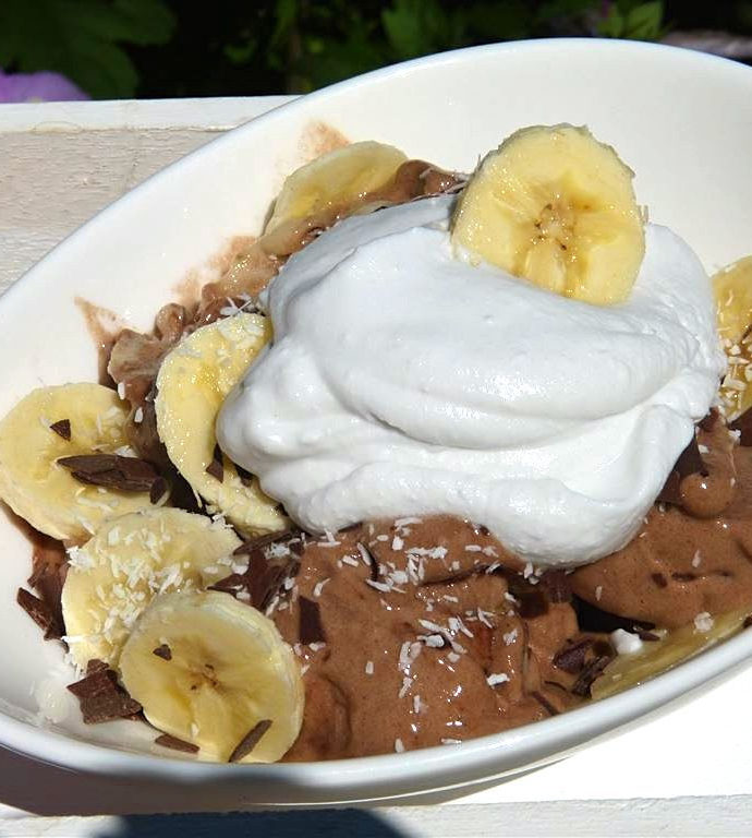 "Vegane Banana Nicecream ""Coco Choco"""