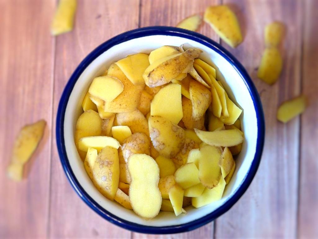 Kartoffelschalen