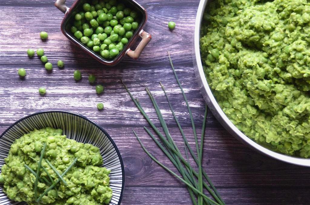 Gesunde Beilage: Mushy Peas